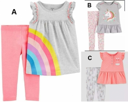 Fashion Baby Girl Catell Love 2in1 - BY1454